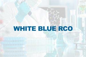 WHITE BLUE RCO